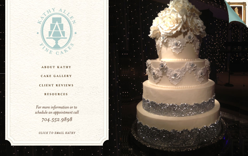 Attractive Welcome To Kathy Allen Fine Wedding Cakes: Charlotte, NC Wedding Cakes.